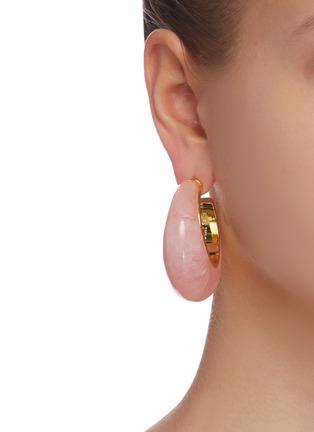 Figure View - Click To Enlarge - CULT GAIA - 'Mona' hoop earrings