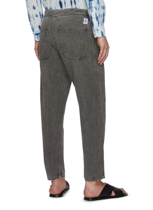 Back View - Click To Enlarge - NANUSHKA - Nova' Japanese style drawstring jeans