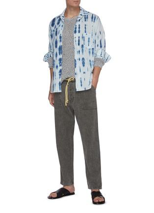 Figure View - Click To Enlarge - NANUSHKA - Nova' Japanese style drawstring jeans