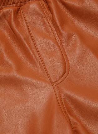 - NANUSHKA - Faux leather shorts