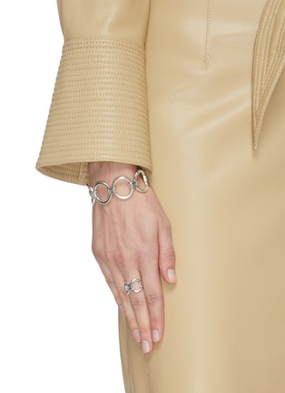 Figure View - Click To Enlarge - PHILIPPE AUDIBERT - 'Blaine' round cutout ring