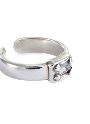 Detail View - Click To Enlarge - PHILIPPE AUDIBERT - 'Keva' Swarovski crystal open ring