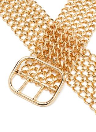 Detail View - Click To Enlarge - PHILOSOPHY DI LORENZO SERAFINI - Solder Chains Waist Belt