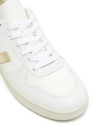 Detail View - Click To Enlarge - VEJA - 'V-10' B-mesh leather sneakers