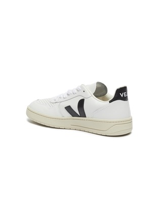 - VEJA - 'V-10' perforated leather sneakers