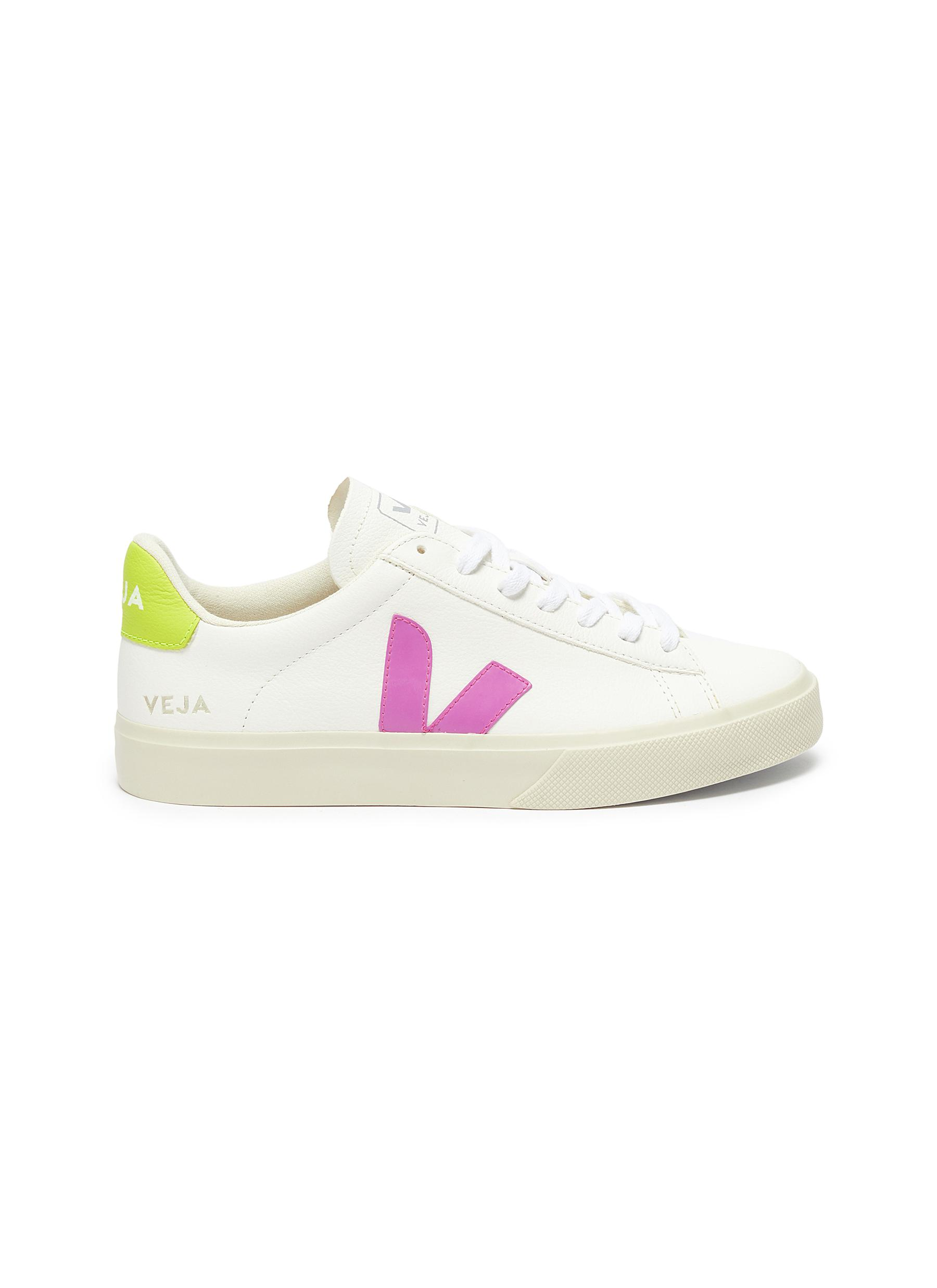 shop Veja 'Campo' chromefree leather sneakers online