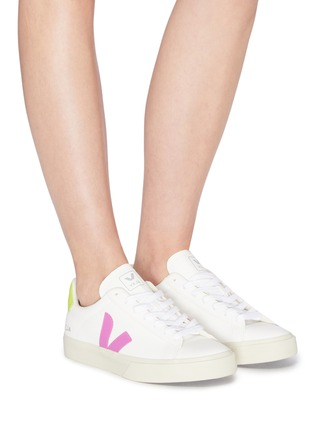 Figure View - Click To Enlarge - VEJA - 'Campo' chromefree leather sneakers