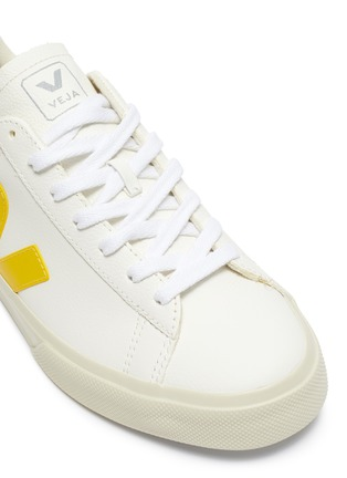 Detail View - Click To Enlarge - VEJA - 'Campo' chromefree leather sneakers