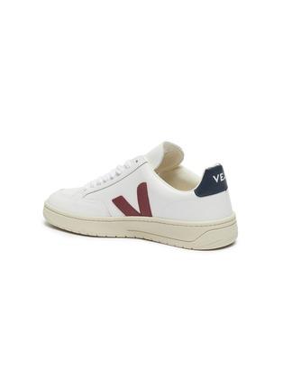 - VEJA - 'V-12' colourblock leather sneakers
