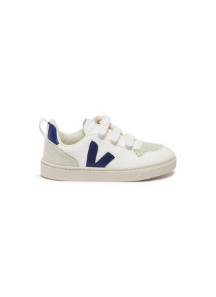 Main View - Click To Enlarge - VEJA - 'V-10' vegan leather toddler sneakers