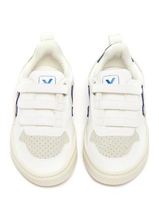Figure View - Click To Enlarge - VEJA - 'V-10' vegan leather toddler sneakers