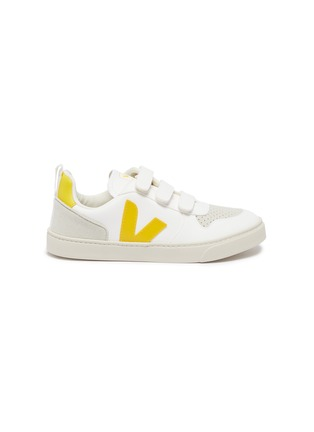 Main View - Click To Enlarge - VEJA - 'V-10' vegan leather kids sneakers