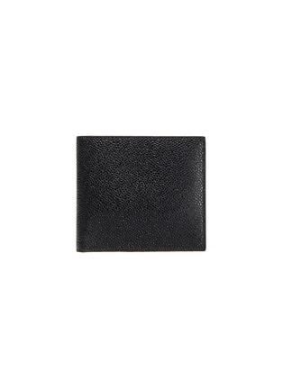 Main View - Click To Enlarge - THOM BROWNE - Pebble grain leather billfold wallet