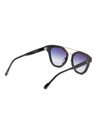Figure View - Click To Enlarge - DONNIEYE - 'Honneur' Star Round Acetate Frame Sunglasses