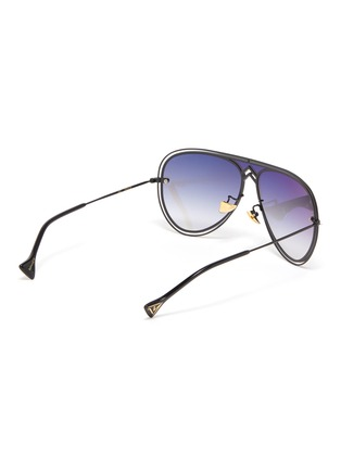 Figure View - Click To Enlarge - DONNIEYE - 'Peace' Metal Aviator Sunglasses