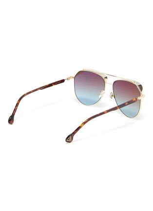 Figure View - Click To Enlarge - DONNIEYE - 'Unifie' Aviator sunglasses