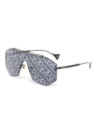 Main View - Click To Enlarge - DONNIEYE - 'Desire' Visor sunglasses