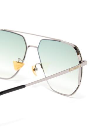 Detail View - Click To Enlarge - DONNIEYE - 'Sagacious' Aviator sunglasses