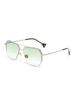 Main View - Click To Enlarge - DONNIEYE - 'Sagacious' Aviator sunglasses