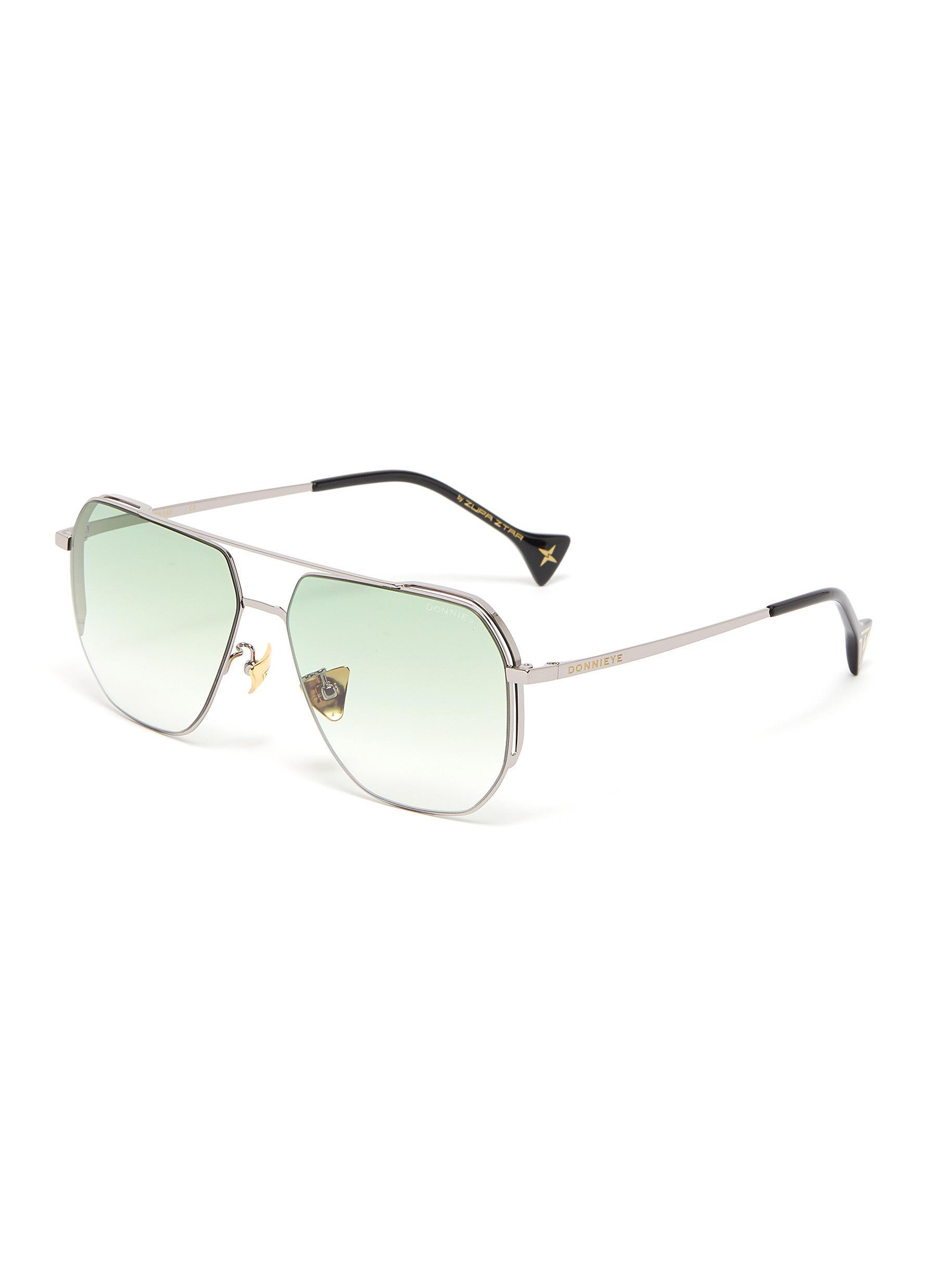 'Sagacious' Aviator sunglasses