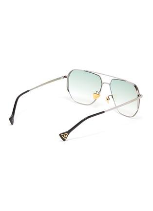 Figure View - Click To Enlarge - DONNIEYE - 'Sagacious' Aviator sunglasses