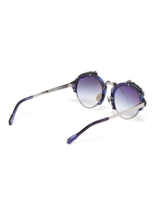 Figure View - Click To Enlarge - DONNIEYE - 'Deesse' Claw round sunglasses