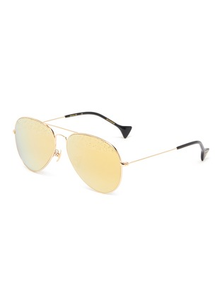 Main View - Click To Enlarge - DONNIEYE - 'Eternity Zeiss' aviator sunglasses