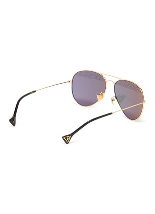 Figure View - Click To Enlarge - DONNIEYE - 'Eternity Zeiss' aviator sunglasses
