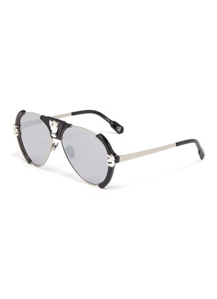 Main View - Click To Enlarge - DONNIEYE - 'Legende' Dragon aviator sunglasses