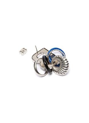 Detail View - Click To Enlarge - BALENCIAGA - Multiring XL single B earring