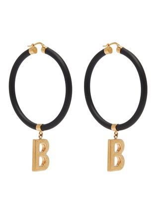 Main View - Click To Enlarge - BALENCIAGA - Elastic band earrings