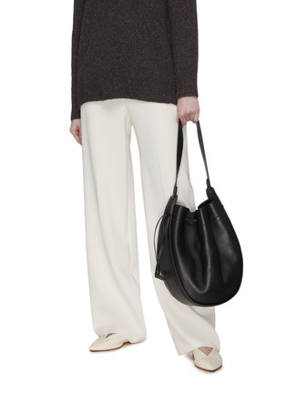 Front View - Click To Enlarge - THE ROW - Drawstring Hobo XL Bag