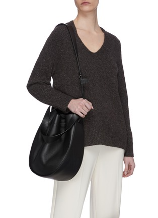 Figure View - Click To Enlarge - THE ROW - Drawstring Hobo XL Bag