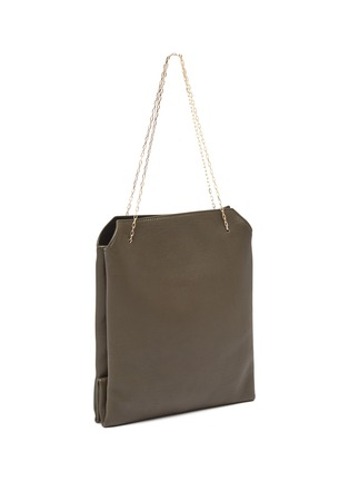 Detail View - Click To Enlarge - THE ROW - Chain strap small leather lunch bag