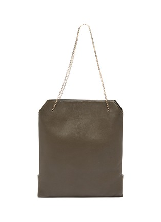 Main View - Click To Enlarge - THE ROW - Chain strap small leather lunch bag