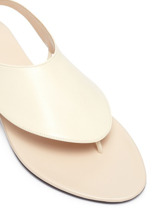 Detail View - Click To Enlarge - THE ROW - 'Ravello' leather sandals
