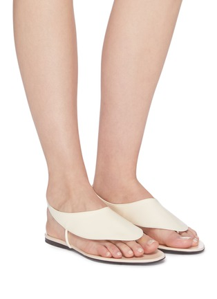 Figure View - Click To Enlarge - THE ROW - 'Ravello' leather sandals