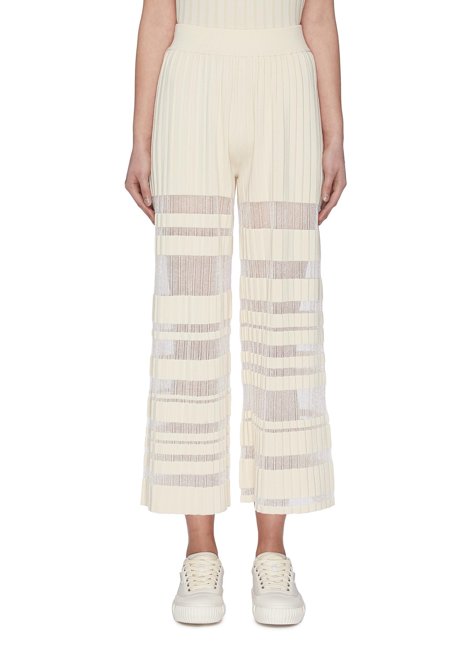 Buy Ph5 Pants & Shorts 'UV-Reactive' Pleated Pants