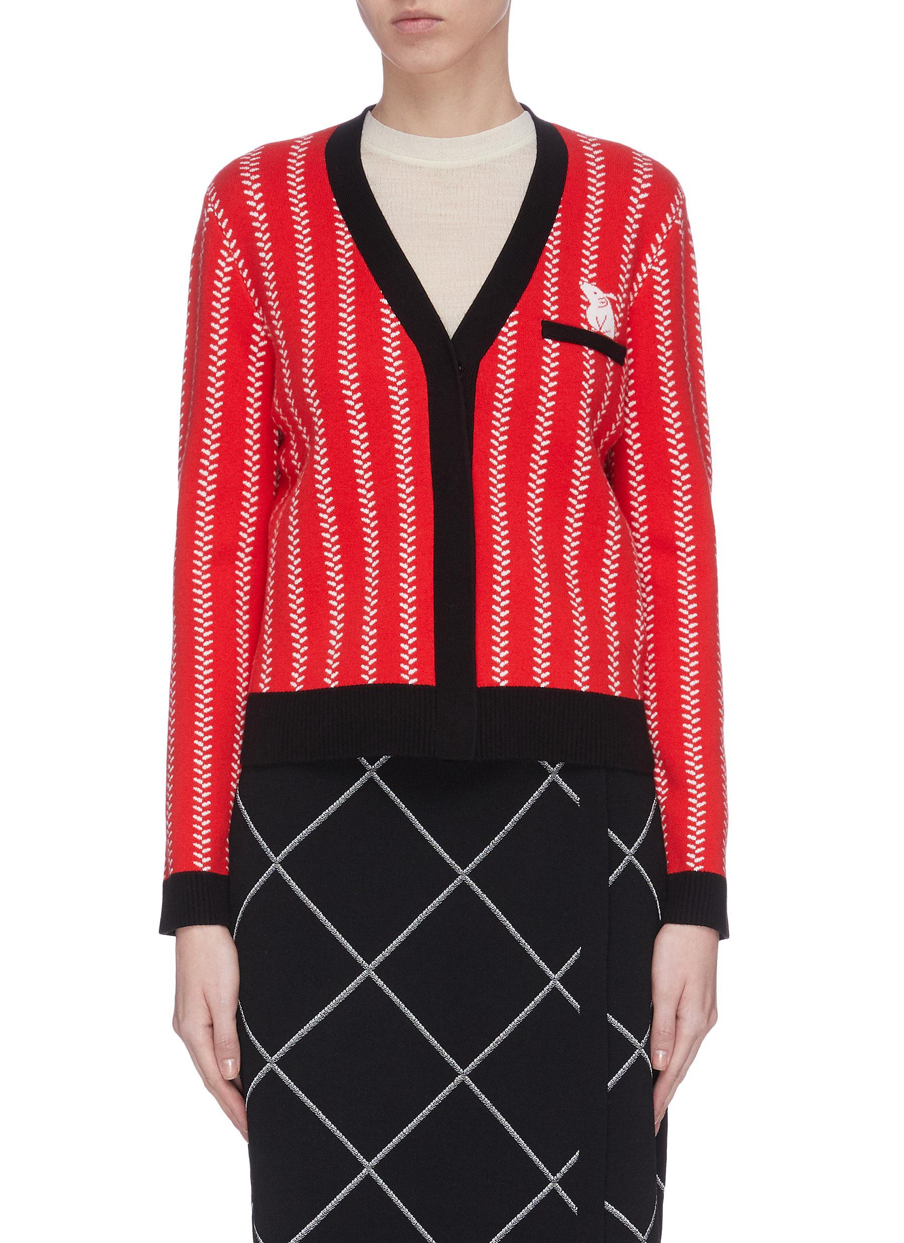 Buy Ph5 Knitwear Rat motif cardigan