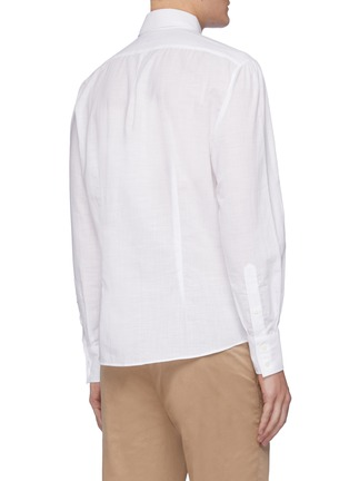 Back View - Click To Enlarge - BRUNELLO CUCINELLI - Classic shirt