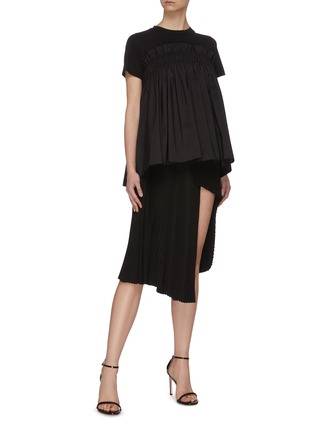 Figure View - Click To Enlarge - MING MA - Ruffle Top