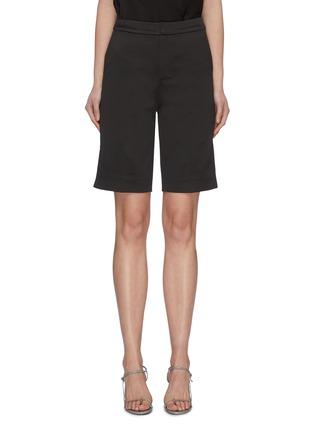 Main View - Click To Enlarge - MING MA - Bermuda Shorts