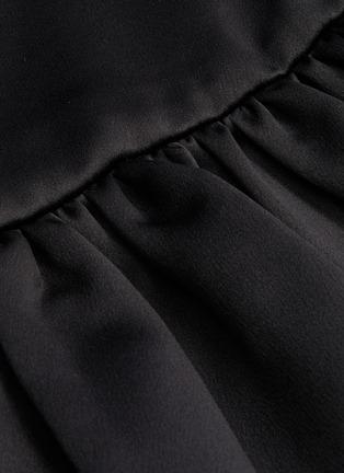 - MING MA - Ruffle Hem Fishtail Skirt