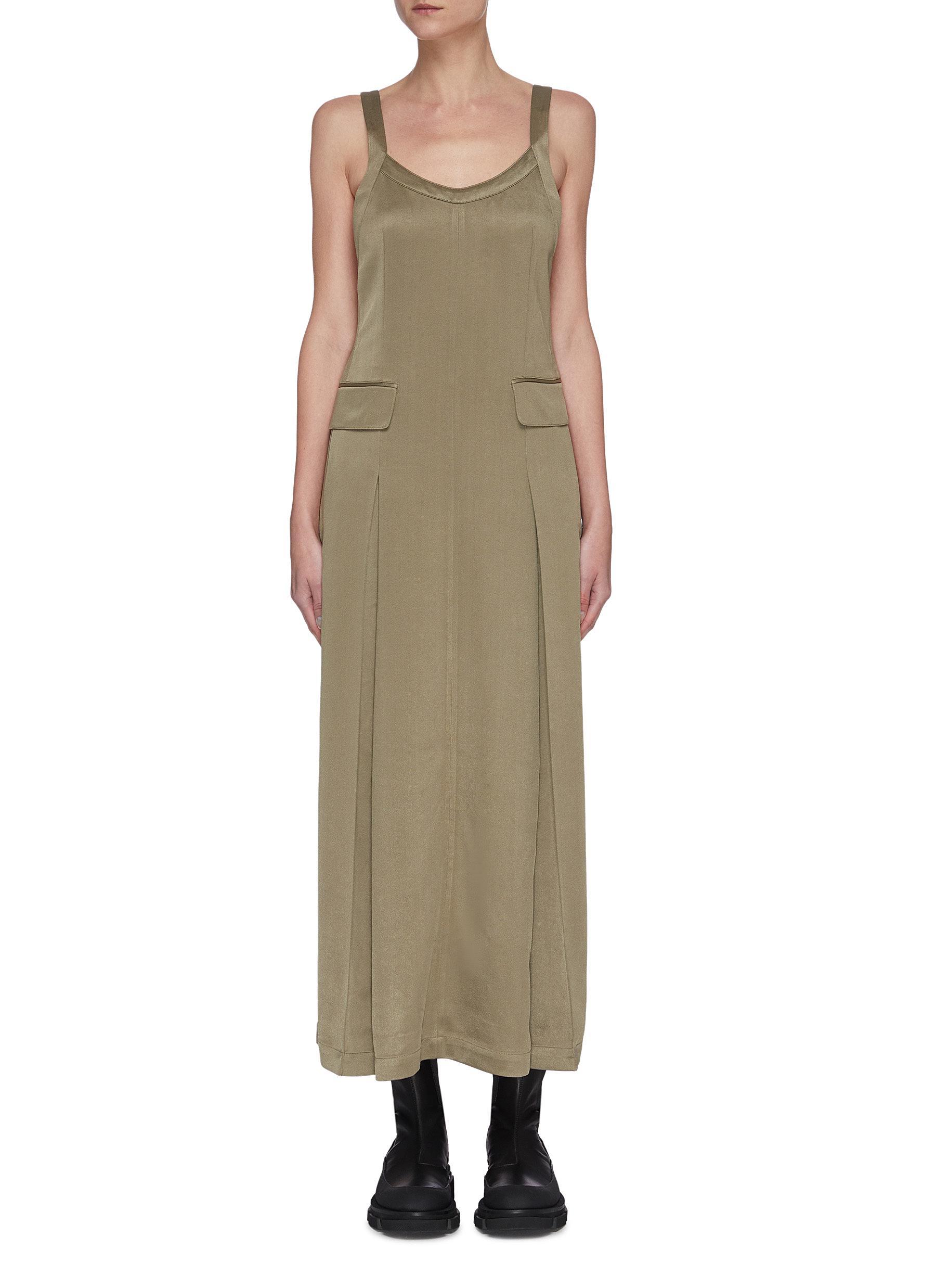 shop Sans Titre Open back dress online