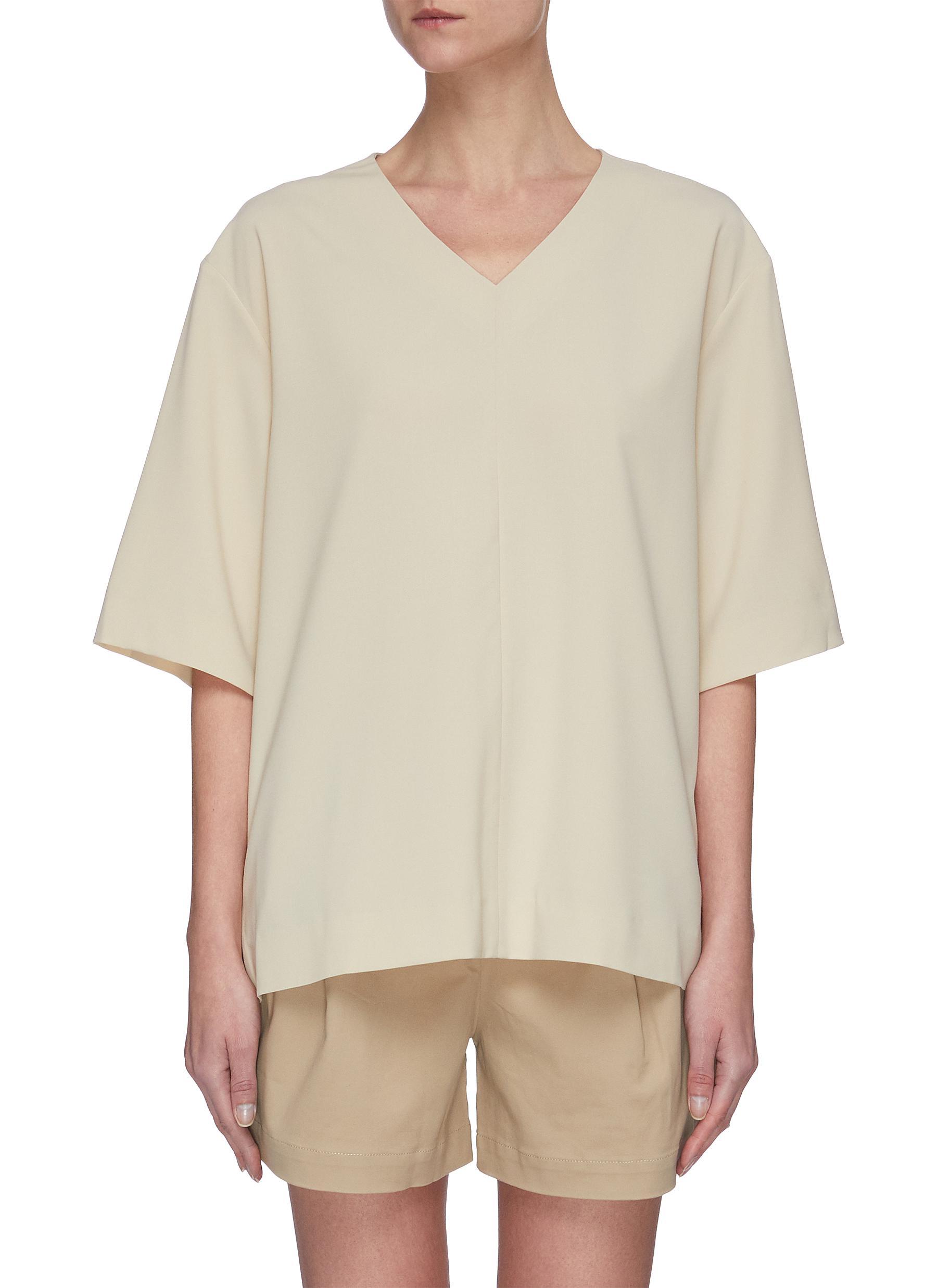 shop Sans Titre V-neck blouse online