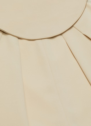 - SANS TITRE - Leather collar halter neck jumpsuit