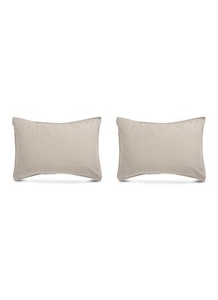 Main View - Click To Enlarge - SOCIETY LIMONTA - Nite Pillowcase Set – Fumo