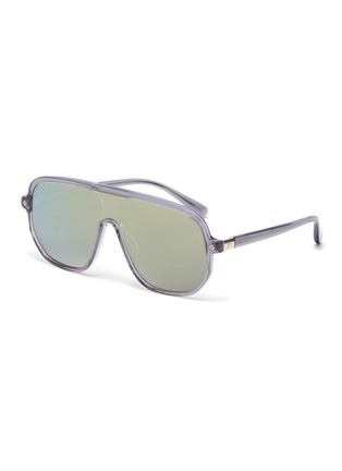 Main View - Click To Enlarge - STEPHANE + CHRISTIAN - Acetate Google D frame sunglasses