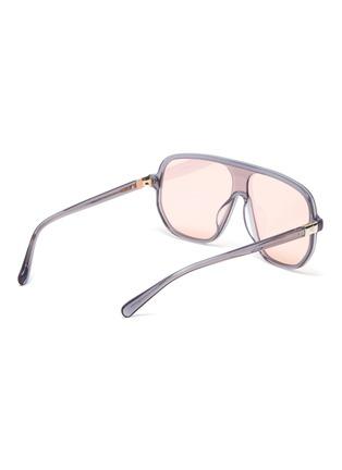 Figure View - Click To Enlarge - STEPHANE + CHRISTIAN - Acetate Google D frame sunglasses