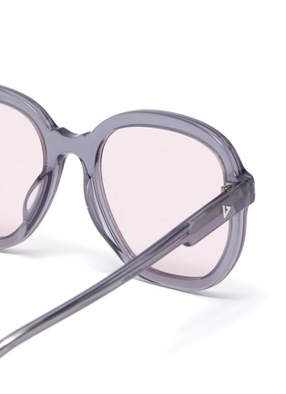 Detail View - Click To Enlarge - STEPHANE + CHRISTIAN - Acetate D frame sunglasses